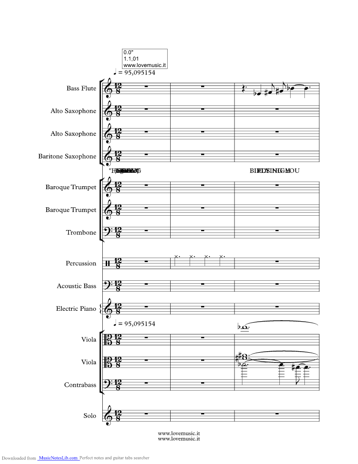 Feeling Good Music Sheet And Notes By Michael Buble Musicnoteslib