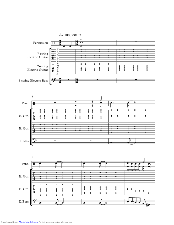 Ignorance Music Sheet And Notes By Paramore Musicnoteslib