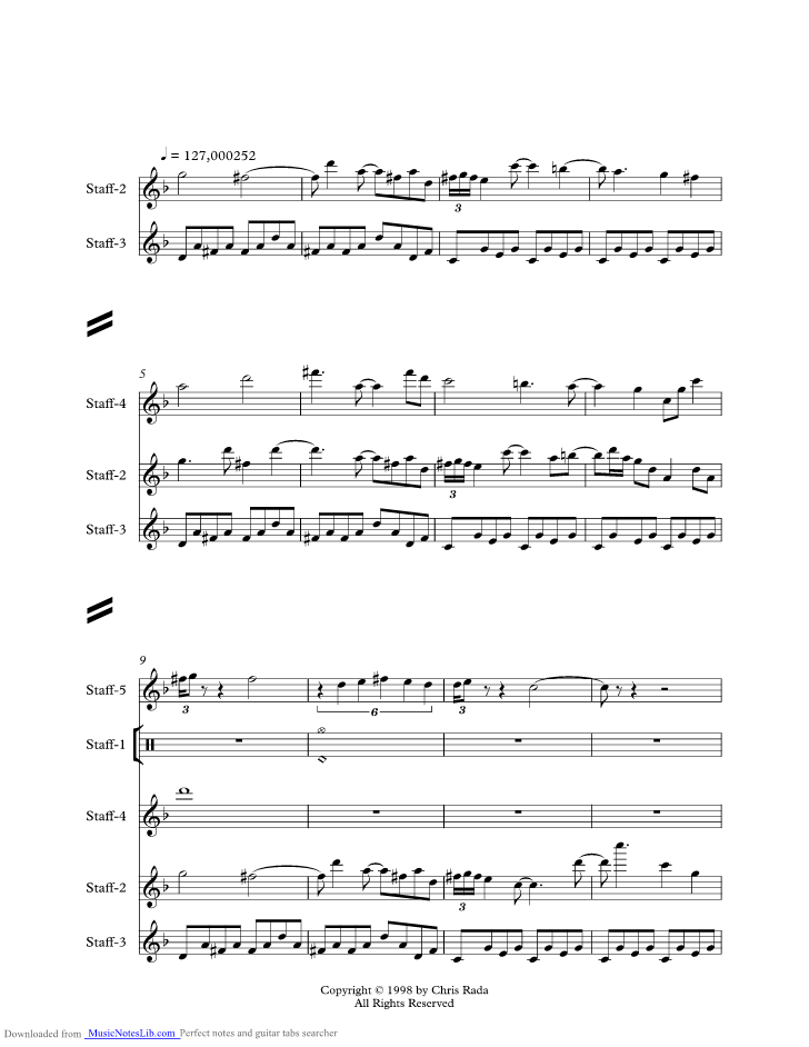 Lady Music Sheet And Notes By Styx Musicnoteslib