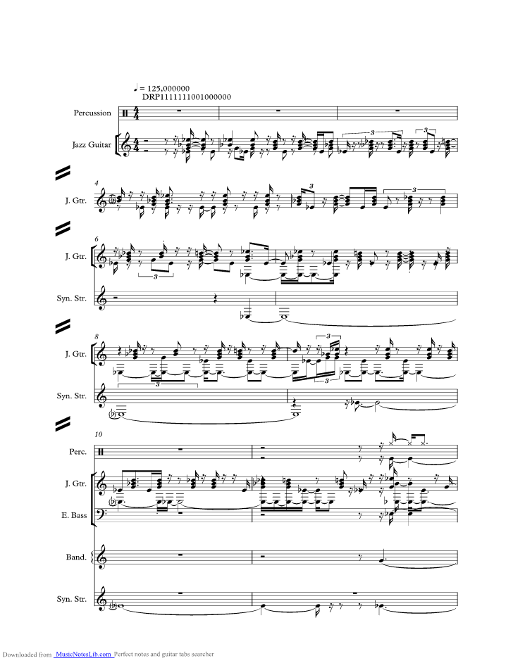 Kiss Me music sheet and notes by Sixpence None The Richer ...