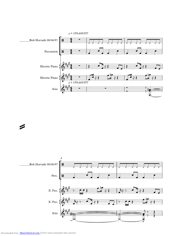 Skyscraper Music Sheet And Notes By David Lee Roth Musicnoteslib