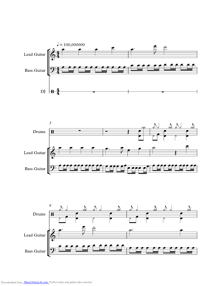 All Music Chords crazy sheet music : Butterfly music sheet and notes by Crazy Town @ musicnoteslib.com