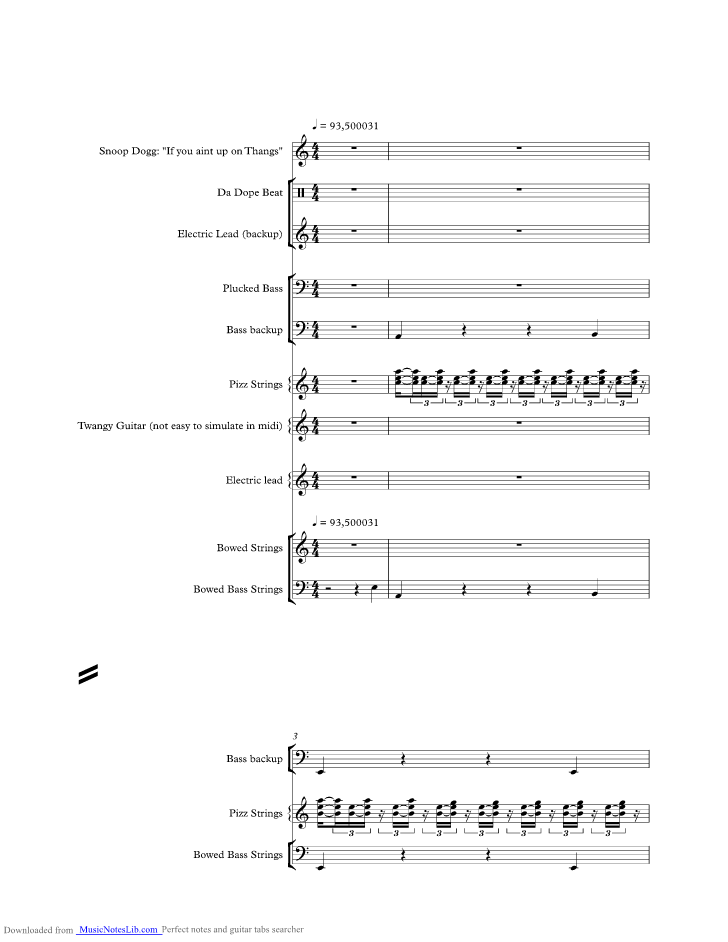 Still Dre Music Sheet And Notes By Dr Dre Musicnoteslib