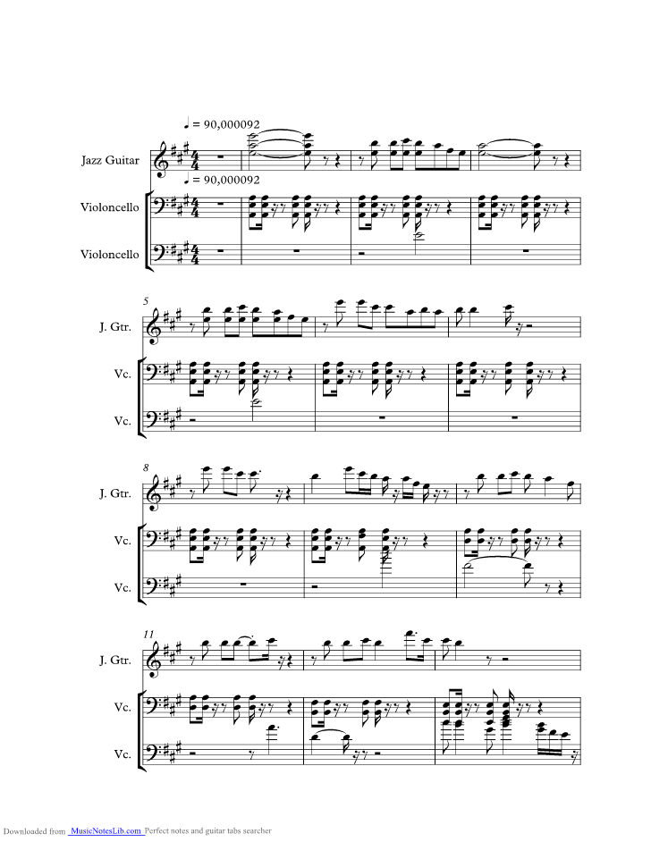 Youll Be In My Heart From Tarzan Music Sheet And Notes By