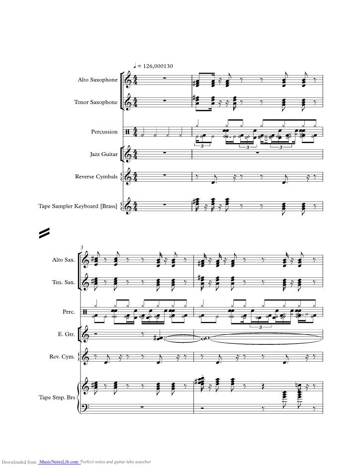 Sha La La La La Music Sheet And Notes By Vengaboys Musicnoteslib