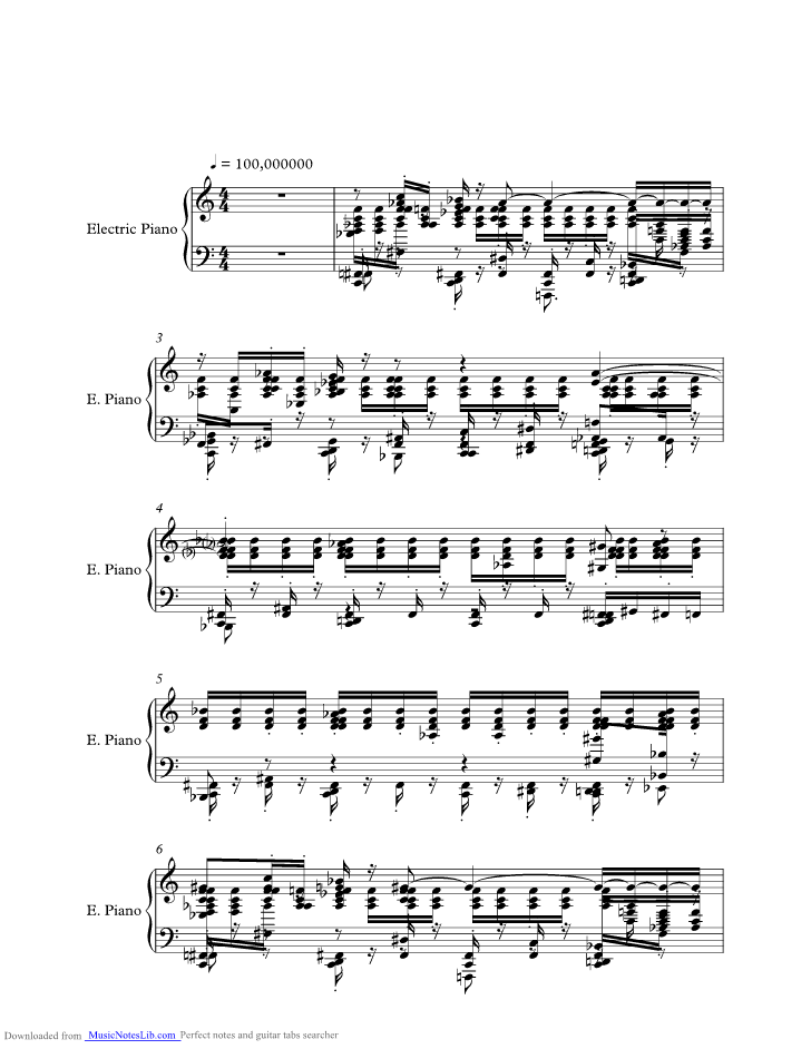 Staying Alive Music Sheet And Notes By Wyclef Jean Musicnoteslib