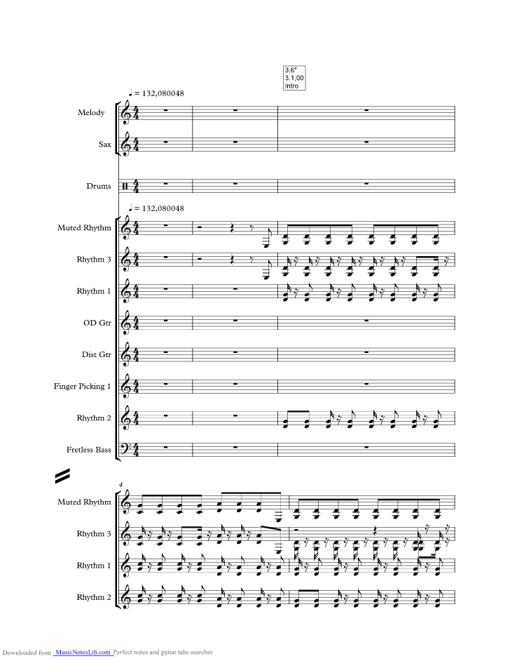 Rock And Roll Girl Music Sheet And Notes By John Fogerty