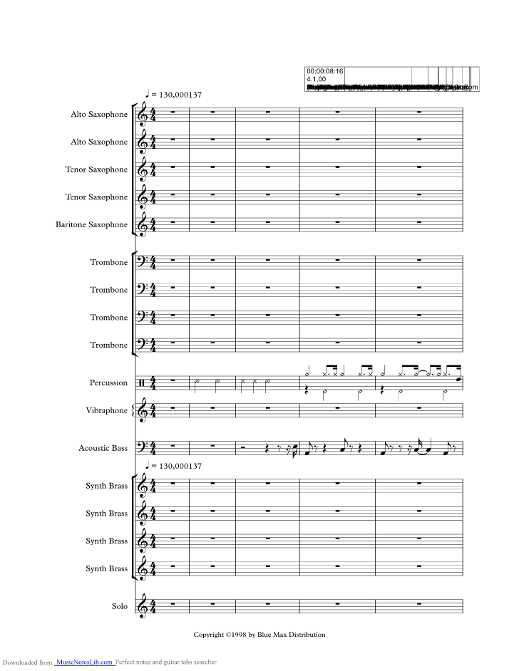 Fever Music Sheet And Notes By Ray Charles Musicnoteslib