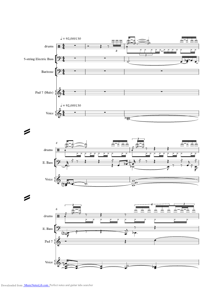 A Thousand Years Music Sheet And Notes By Toto Musicnoteslib