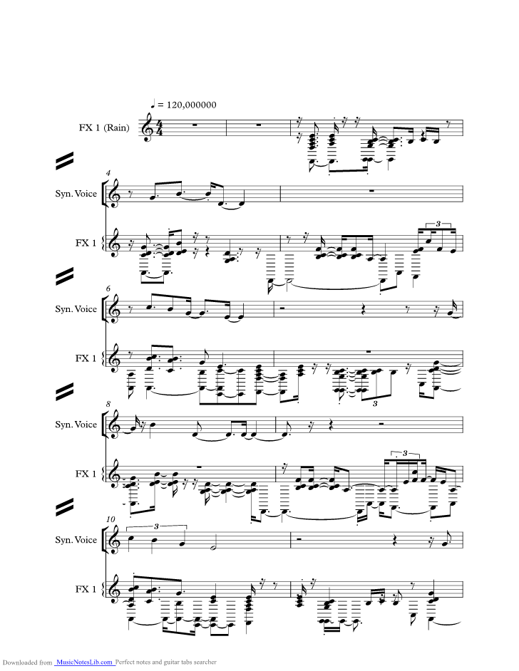 A Secret Love Music Sheet And Notes By Toto Musicnoteslib