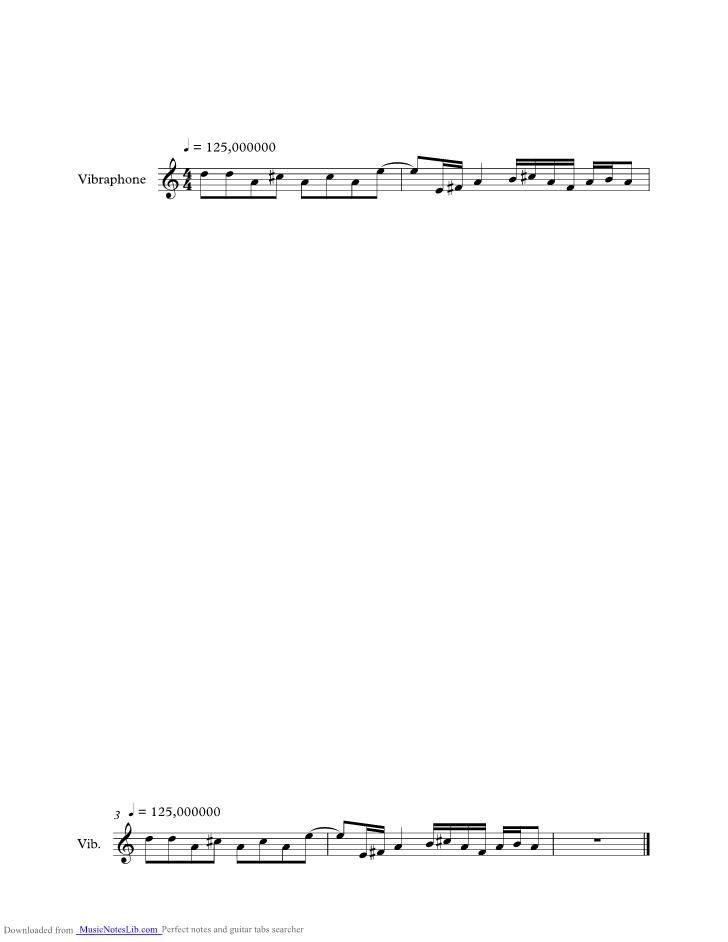 Digital Love Music Sheet And Notes By Daft Punk Musicnoteslib