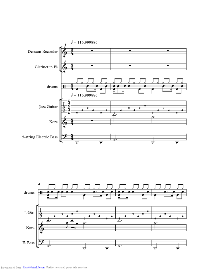 I Miss You Music Sheet And Notes By Incubus Musicnoteslib