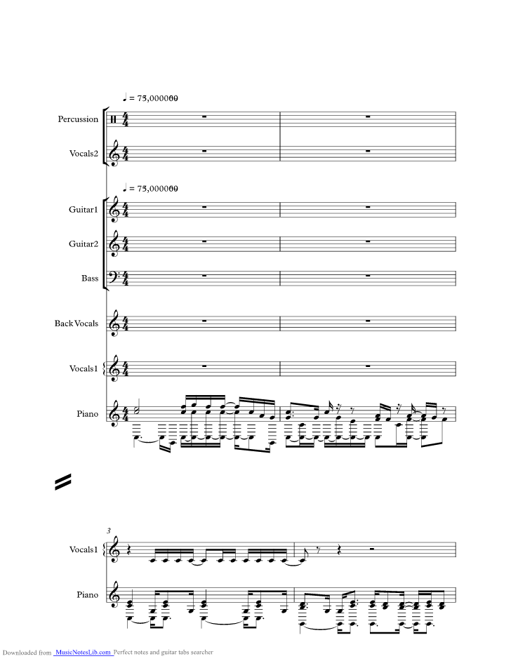 Feeling That Way Music Sheet And Notes By Journey Musicnoteslib