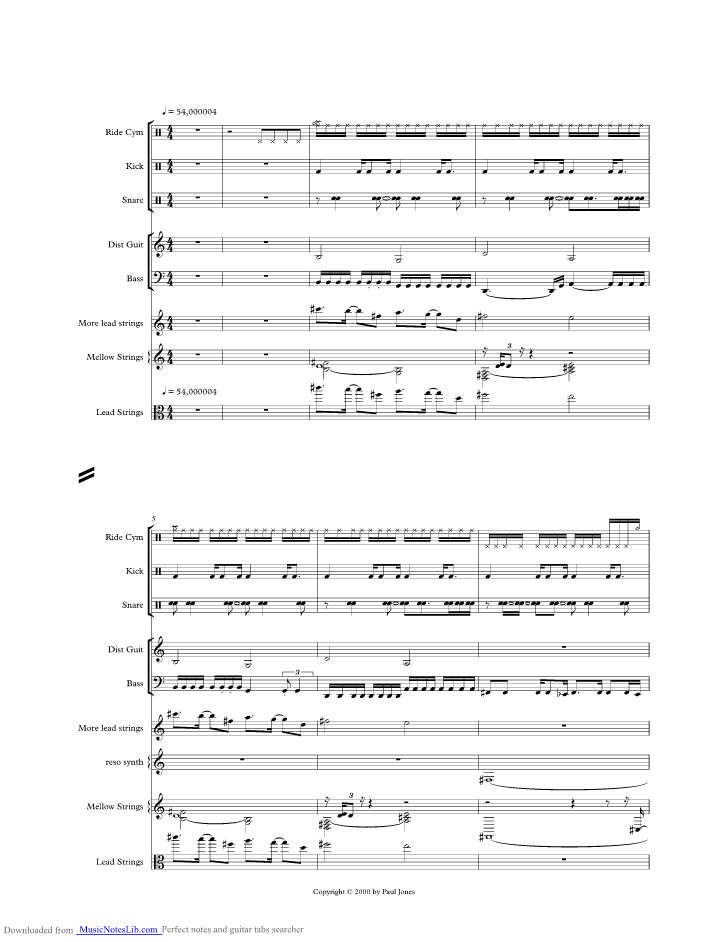 Glorious Music Sheet And Notes By Andreas Johnson Musicnoteslib
