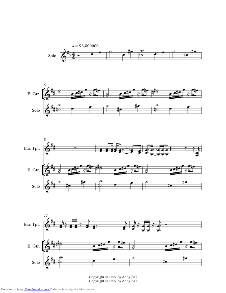 Theme From The Bottom Music Sheet And Notes By Phish Musicnoteslib