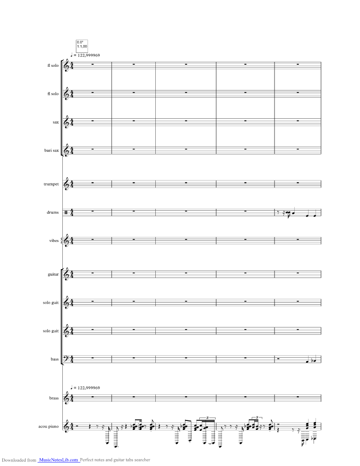 Home At Last Music Sheet And Notes By Steely Dan Musicnoteslib