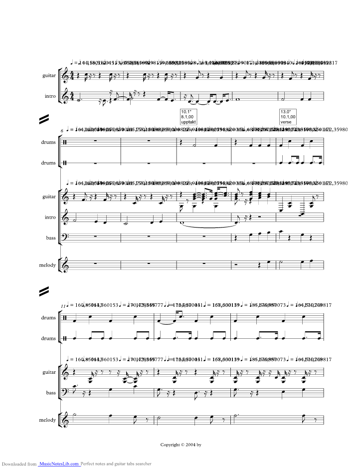 Of A Clown Music Sheet And Notes