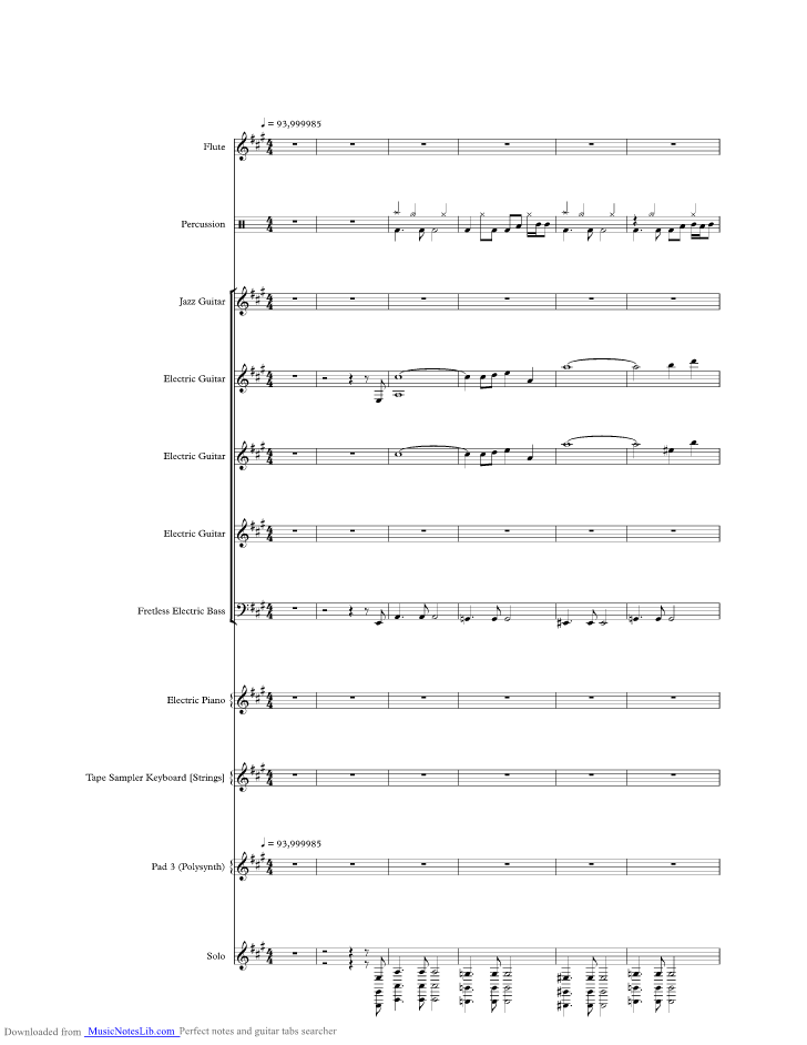 All Music Chords hello sheet music : Hello Hooray music sheet and notes by Alice Cooper @ musicnoteslib.com