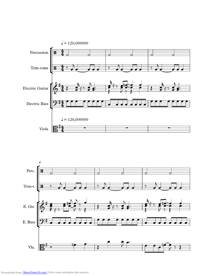 Hot Blooded Music Sheet And Notes By Foreigner Musicnoteslib