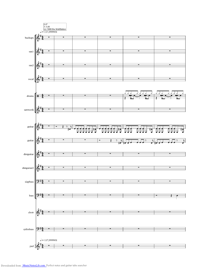 Urgent Music Sheet And Notes By Foreigner Musicnoteslib