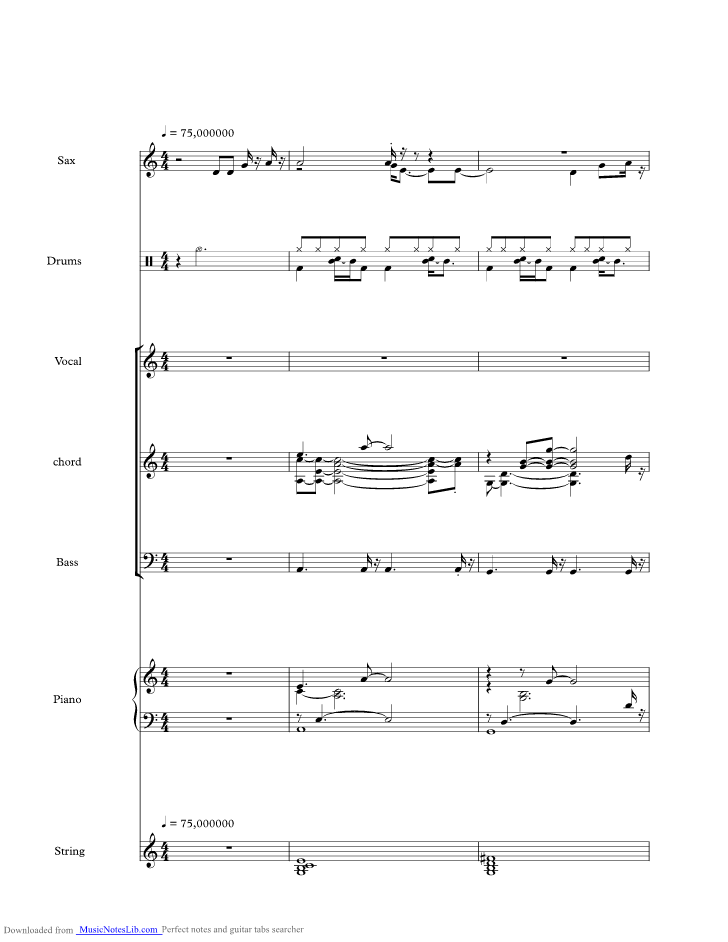 The One You Love Music Sheet And Notes By Glenn Frey Musicnoteslib