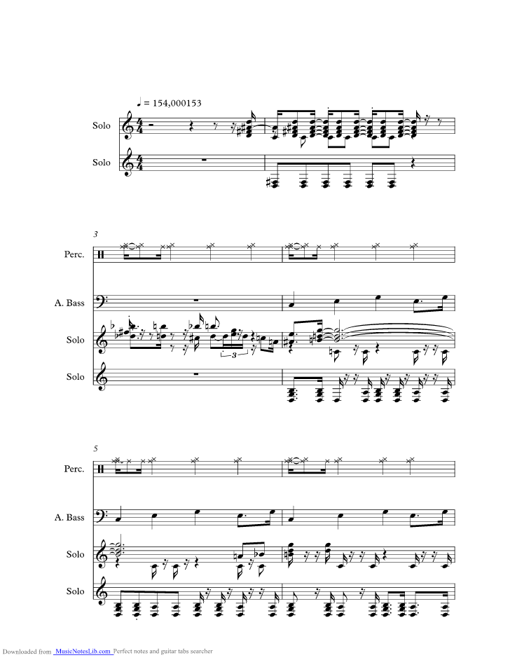 Honky Tonk Blues Music Sheet And Notes By Jelly Roll Morton