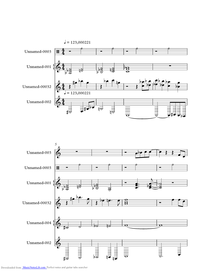 Bluer Than Blue Music Sheet And Notes By Michael Johnson