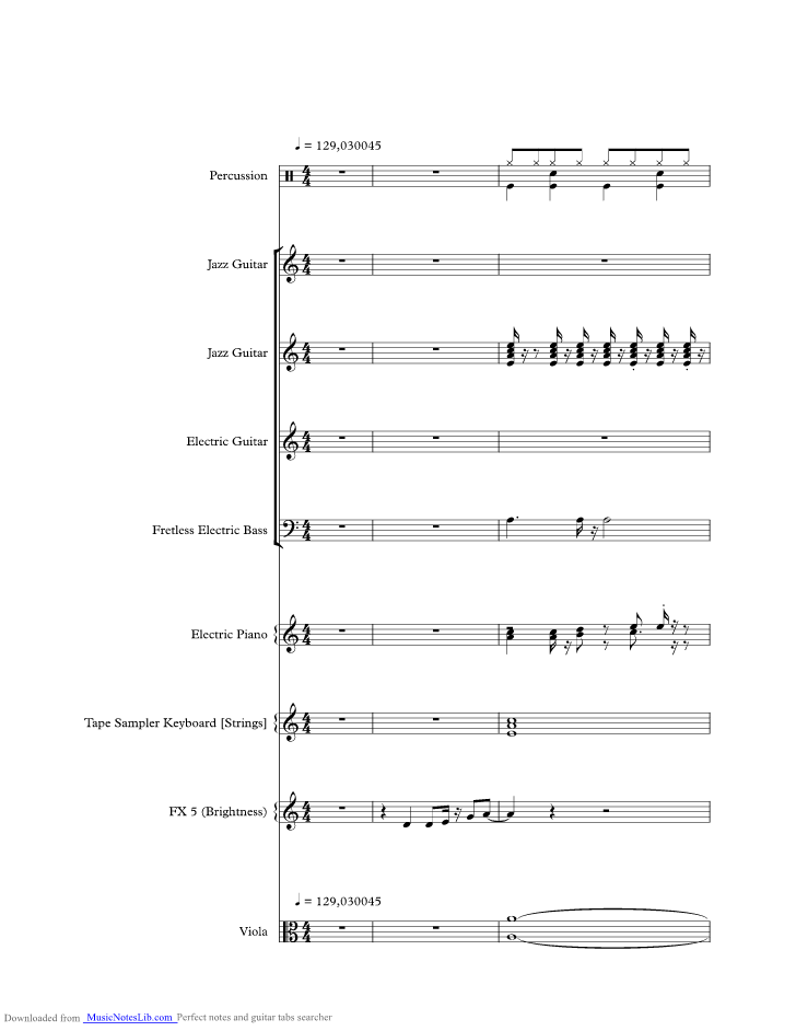 Stumblin In Music Sheet And Notes By Suzi Quatro Musicnoteslib