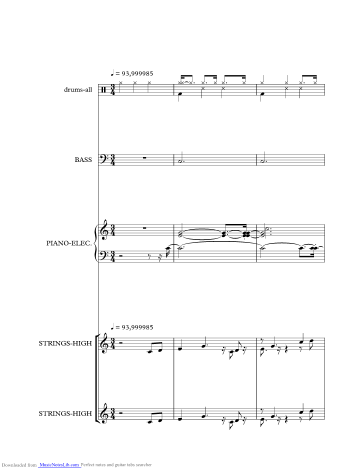 Tennessee Waltz Music Sheet And Notes By Alma Cogan Musicnoteslib