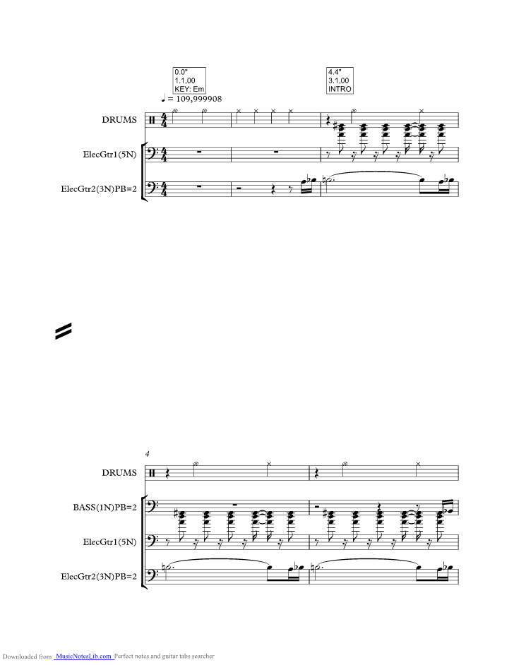 Spooky music sheet and notes by Atlanta Rhythm Section ...