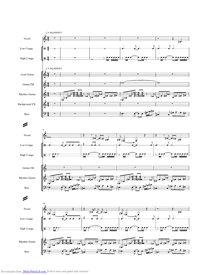 Planet Caravan Music Sheet And Notes By Black Musicnoteslib
