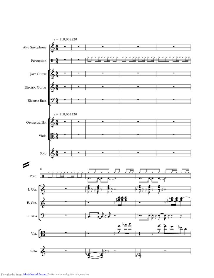 sunny sheet notes boney musicnoteslibcom