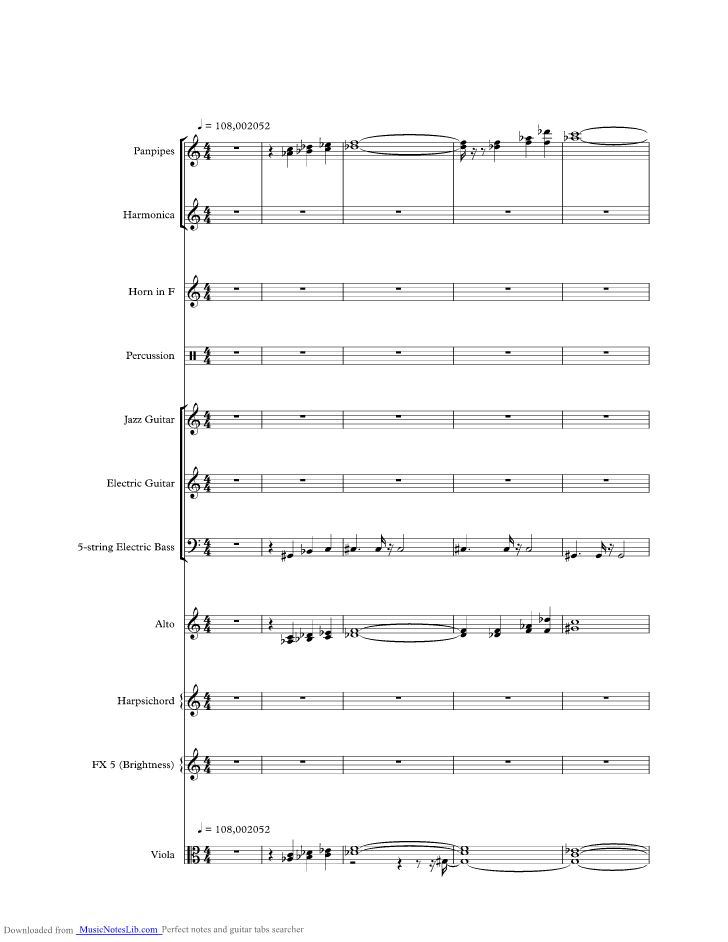 El Lute Gotta Go Home music sheet and notes by Boney M