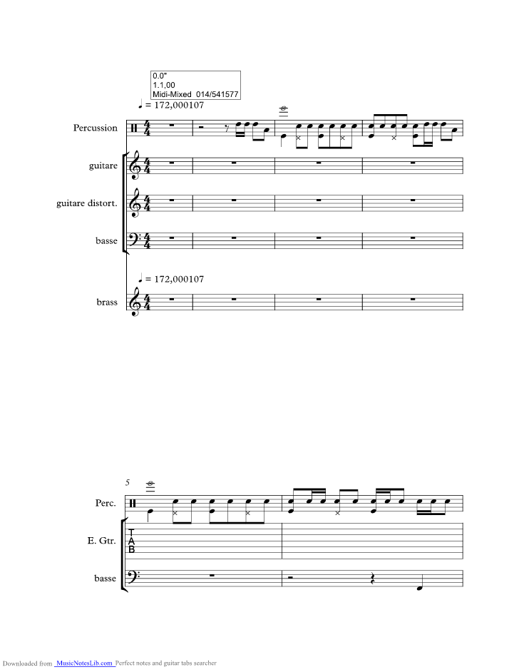 chubby checker twist chords