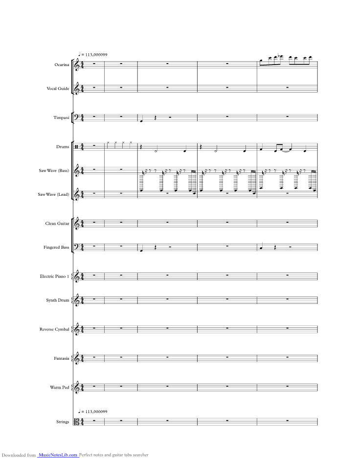 1 2 Step Music Sheet And Notes By Ciara Musicnoteslib