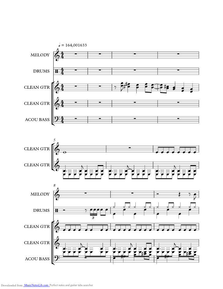 Move It Music Sheet And Notes By Cliff Richard Musicnoteslib