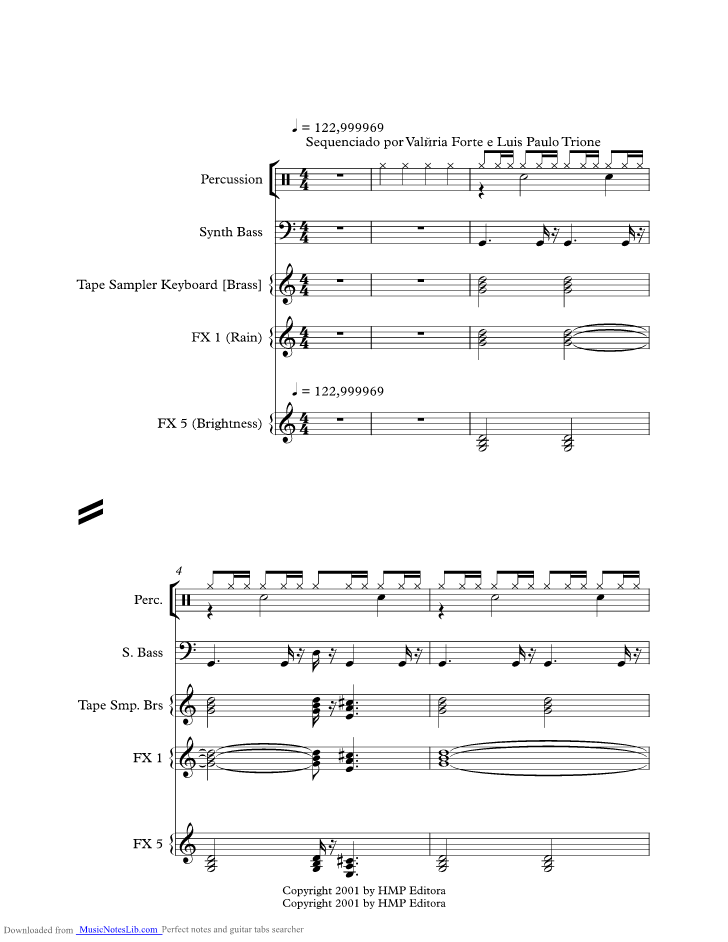 One More Time music sheet and notes by Daft Punk