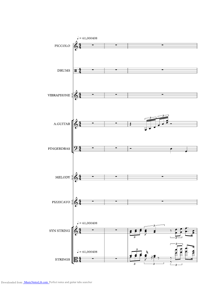 Que Sera Sera music sheet and notes by Doris Day @ musicnoteslib.com