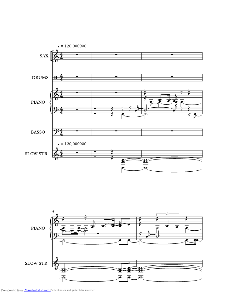 Se bastasse una canzone music sheet and notes by eros for 1 piano piano di storia