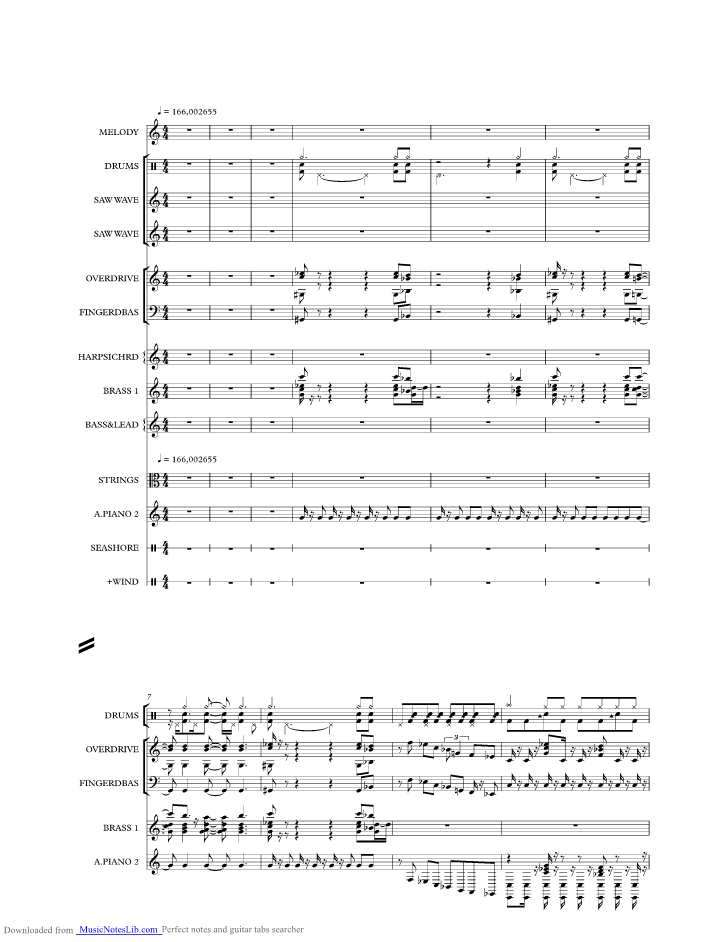 Far From Over From Staying Alive Music Sheet And Notes By Frank