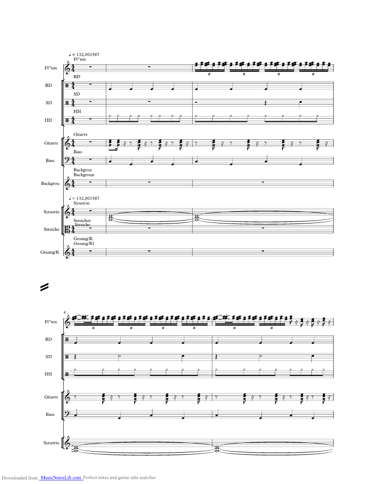 Una Paloma Blanca music sheet and notes by George Baker Selection ...