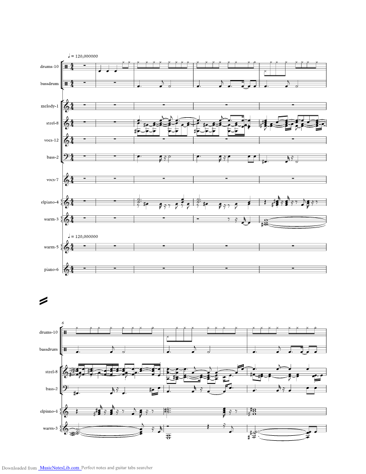 One Night At A Time Music Sheet And Notes By George Strait