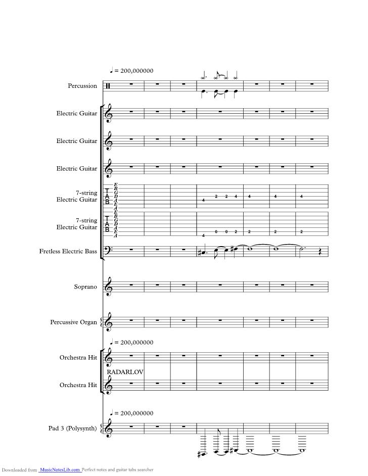 All Music Chords golden sheet music : Radar Love music sheet and notes by Golden Earring @ musicnoteslib.com