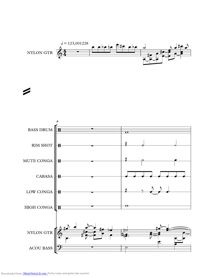 Jamaica Farewell Music Sheet And Notes By Harry Belafonte