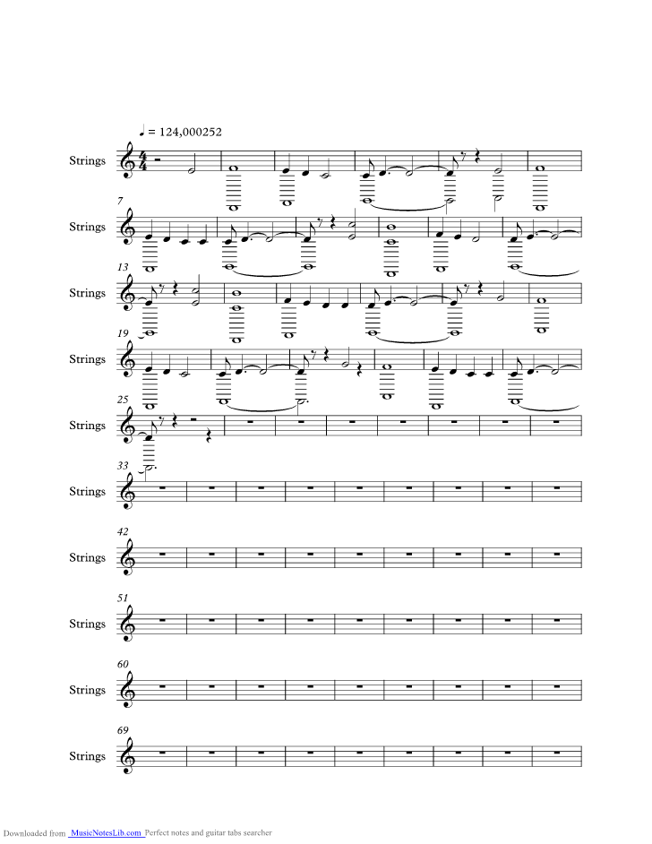 Hans Zimmer Injection Off After Bar 10 John Music Sheet And Notes By