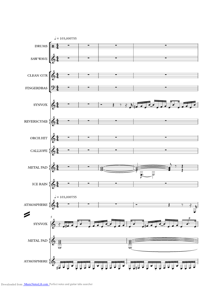 All Music Chords crazy sheet music : CRAZY music sheet and notes by Icehouse @ musicnoteslib.com