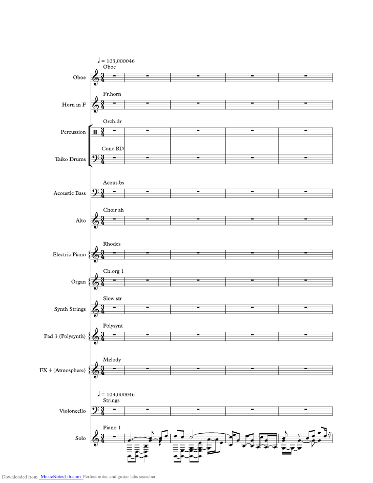 Ill Put You Together Again Music Sheet And Notes By Hot Chocolate