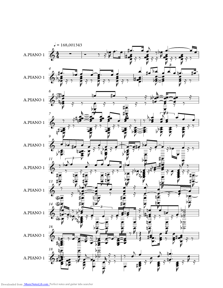 Maple Leaf Rag Music Sheet And Notes By Jelly Roll Morton