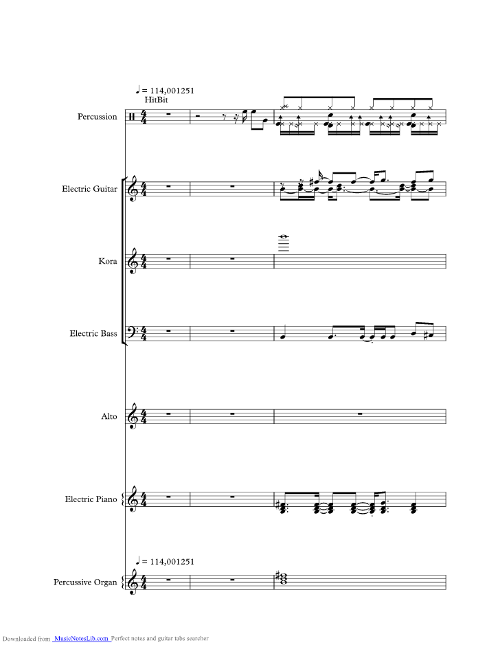 Ive Been Thinking About You Music Sheet And Notes By London Beat