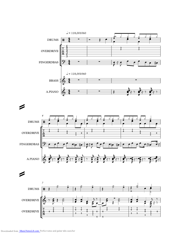 Sexy Music Sheet And Notes By Marius Mueller Westernhagen